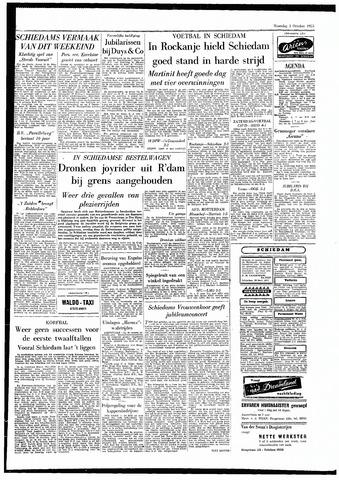 Rotterdamsch Parool / De Schiedammer 1955-10-03