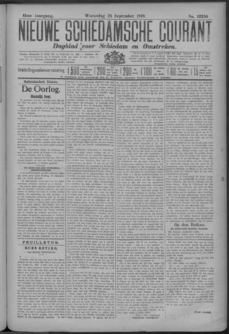 Nieuwe Schiedamsche Courant 1918-09-25