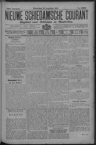 Nieuwe Schiedamsche Courant 1913-08-13