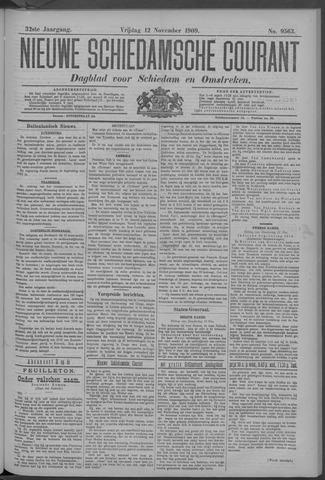 Nieuwe Schiedamsche Courant 1909-11-12