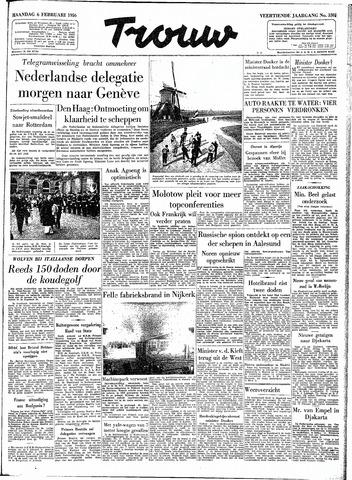 Trouw / De Rotterdammer 1956-02-06