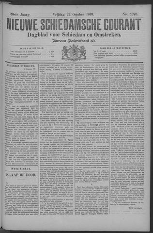 Nieuwe Schiedamsche Courant 1897-10-22
