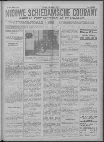 Nieuwe Schiedamsche Courant 1929-03-29