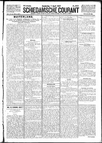 Schiedamsche Courant 1927-04-07