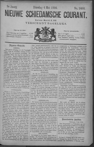 Nieuwe Schiedamsche Courant 1886-05-04