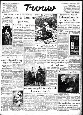 Trouw / De Rotterdammer 1956-08-16