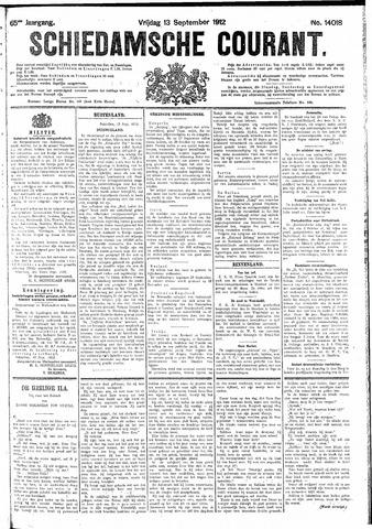 Schiedamsche Courant 1912-09-13