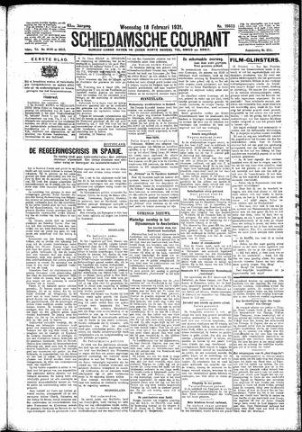Schiedamsche Courant 1931-02-18