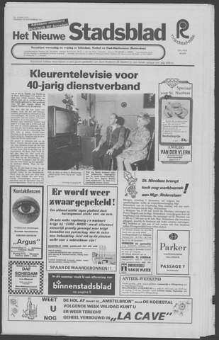 Het Nieuwe Stadsblad 1973-11-30