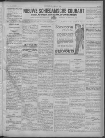 Nieuwe Schiedamsche Courant 1932-03-24