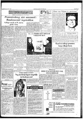 Rotterdamsch Nieuwsblad / Schiedamsche Courant / Rotterdams Dagblad / Waterweg / Algemeen Dagblad 1959-07-25