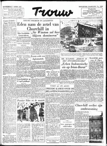 Trouw / De Rotterdammer 1955-04-07