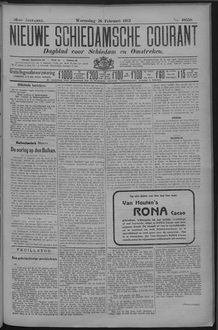 Nieuwe Schiedamsche Courant 1913-02-26