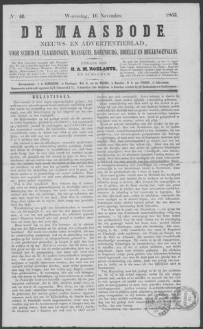 De Maasbode 1853-11-16
