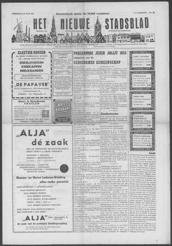 Het Nieuwe Stadsblad 1955-06-22