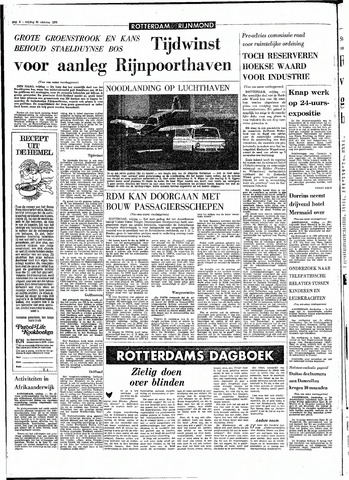 Rotterdamsch Parool / De Schiedammer 1970-10-30