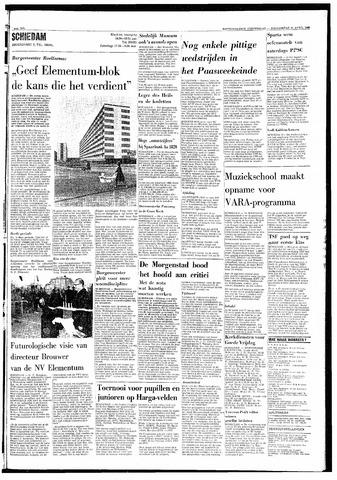 Rotterdamsch Nieuwsblad / Schiedamsche Courant / Rotterdams Dagblad / Waterweg / Algemeen Dagblad 1968-04-11
