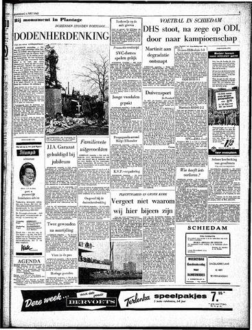 Rotterdamsch Parool / De Schiedammer 1963-05-06