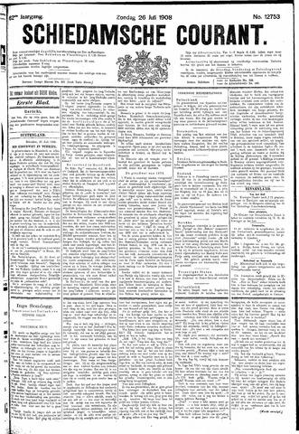 Schiedamsche Courant 1908-07-26