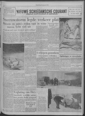 Nieuwe Schiedamsche Courant 1958-01-23