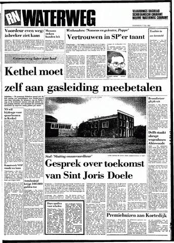 Rotterdamsch Nieuwsblad / Schiedamsche Courant / Rotterdams Dagblad / Waterweg / Algemeen Dagblad 1983-07-07