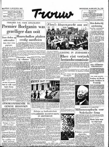 Trouw / De Rotterdammer 1955-08-08