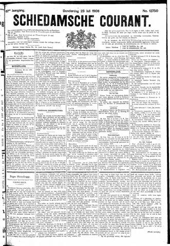 Schiedamsche Courant 1908-07-23