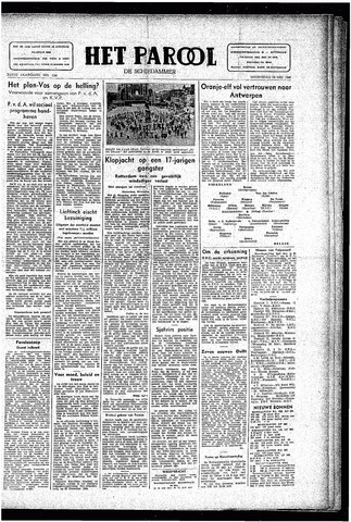 Rotterdamsch Parool / De Schiedammer 1946-05-29