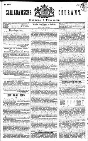 Schiedamsche Courant 1866-02-05