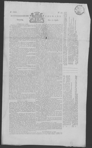 Rotterdamse Courant 1826-04-15