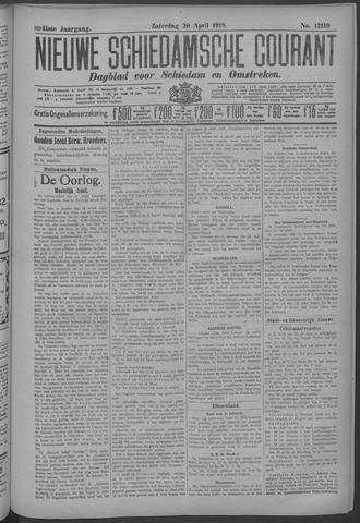 Nieuwe Schiedamsche Courant 1918-04-20