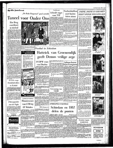 Rotterdamsch Parool / De Schiedammer 1964-03-09