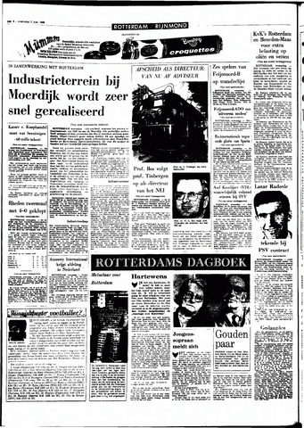 Rotterdamsch Parool / De Schiedammer 1968-06-05