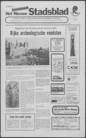 Het Nieuwe Stadsblad 1974-04-19