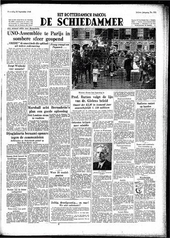 Rotterdamsch Parool / De Schiedammer 1948-09-22