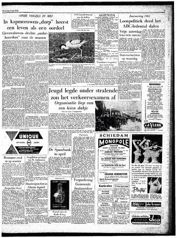 Rotterdamsch Parool / De Schiedammer 1962-05-09
