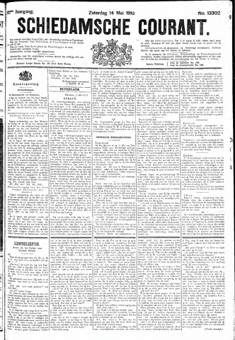 Schiedamsche Courant 1910-05-14