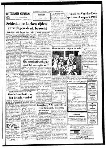 Rotterdamsch Nieuwsblad / Schiedamsche Courant / Rotterdams Dagblad / Waterweg / Algemeen Dagblad 1966-12-27