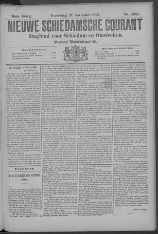 Nieuwe Schiedamsche Courant 1897-11-24