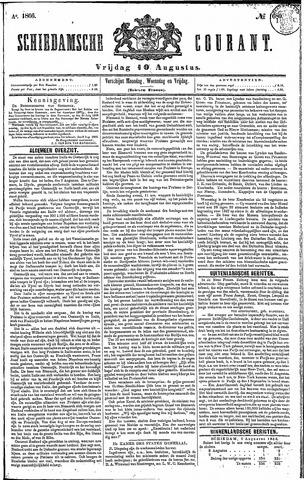 Schiedamsche Courant 1866-08-10