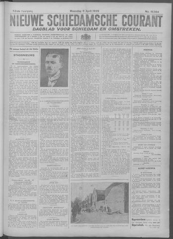 Nieuwe Schiedamsche Courant 1929-04-08