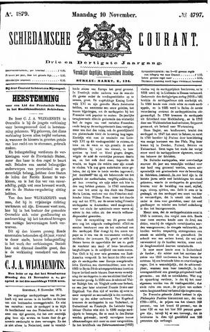 Schiedamsche Courant 1879-11-10
