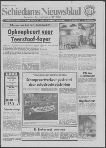Schiedams Nieuwsblad 1983-06-08