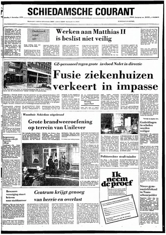 Rotterdamsch Nieuwsblad / Schiedamsche Courant / Rotterdams Dagblad / Waterweg / Algemeen Dagblad 1979-12-04