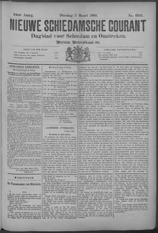 Nieuwe Schiedamsche Courant 1901-03-05
