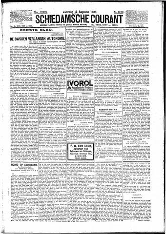 Schiedamsche Courant 1933-08-19