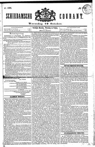 Schiedamsche Courant 1866-10-10
