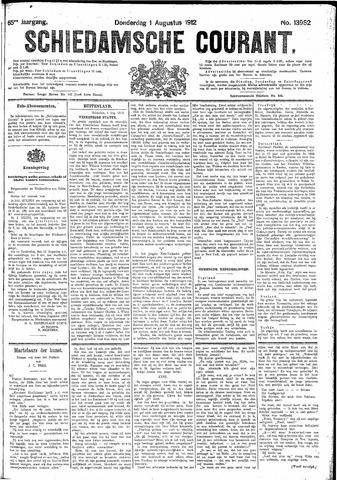 Schiedamsche Courant 1912-08-01
