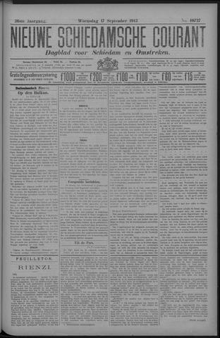 Nieuwe Schiedamsche Courant 1913-09-17