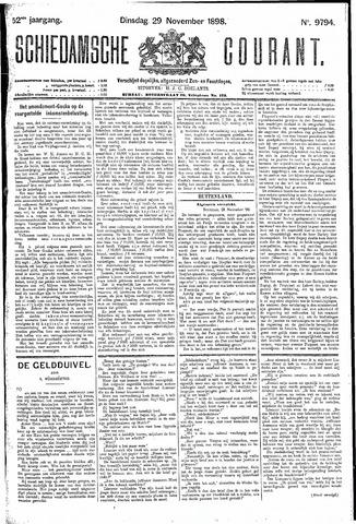 Schiedamsche Courant 1898-11-29
